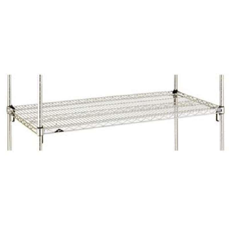 """Shelf 30 x 72"""" Wire Chrome Metro Super Wide Shelving"""