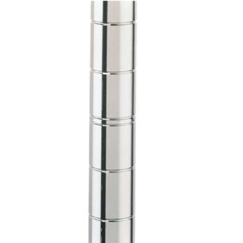 """Post 62"""" Stainless Steel with Cap and No Leveling Bolt"""