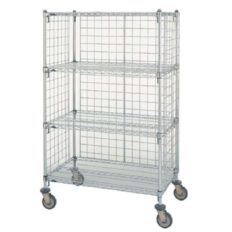 """Chrome Enclosure Panel for Use with Super Erecta® 74"""" Posts, 12-3/8 x 70-1/2"""""""
