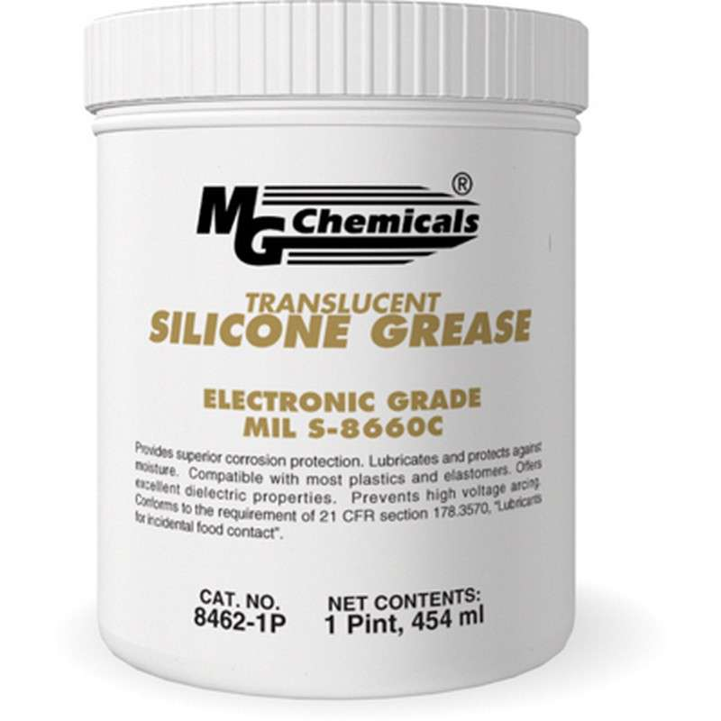 Dielectric Silicone Grease, Translucent, 16oz Tub