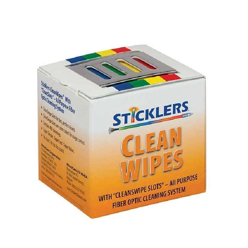Sticklers™ CleanWipes® Static Dissipative Fiber Optic Cleaning Wipes, 400 per Box