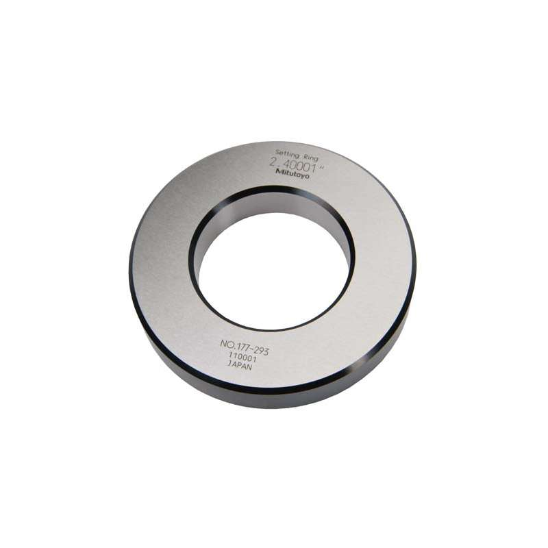 """Series 177 Setting Ring for Inside Micrometers, Holtest, and Dial Bore Gages, 5"""" ± .00010"""""""