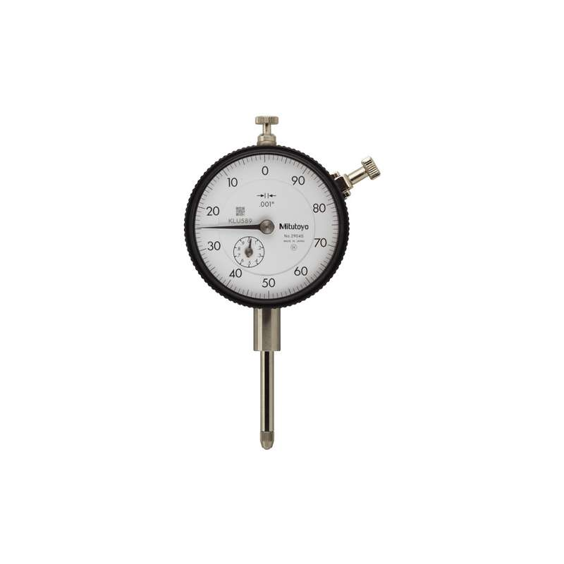 """Series 2 Standard Type Dial Indicator with Lug Back and Jeweled Bearing, .001-2"""" Range"""
