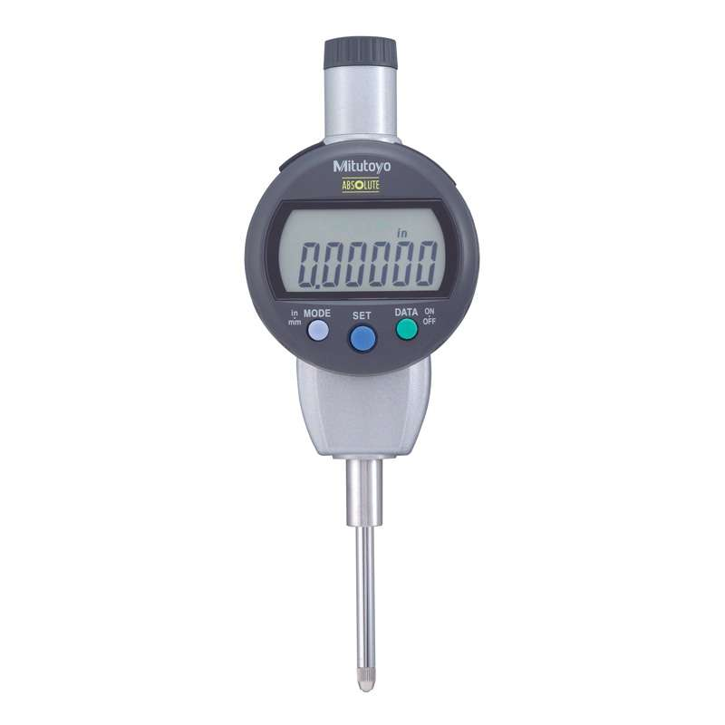 """Series 543 ID-C Digimatic Indicator with ABSOLUTE Encode Technology and Flat Back, 0-1""""/25.4mm Range"""