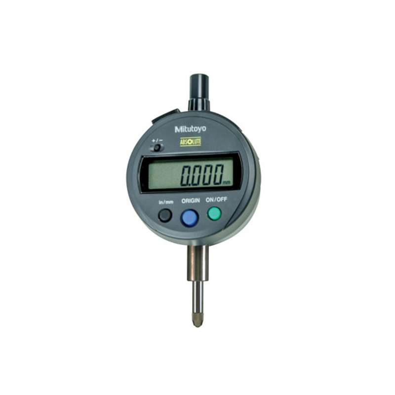 """Series 543 ID-SX Digimatic Indicator with ABSOLUTE Encode Technology and Flat Back, 0-.5""""/12.7mm Range"""