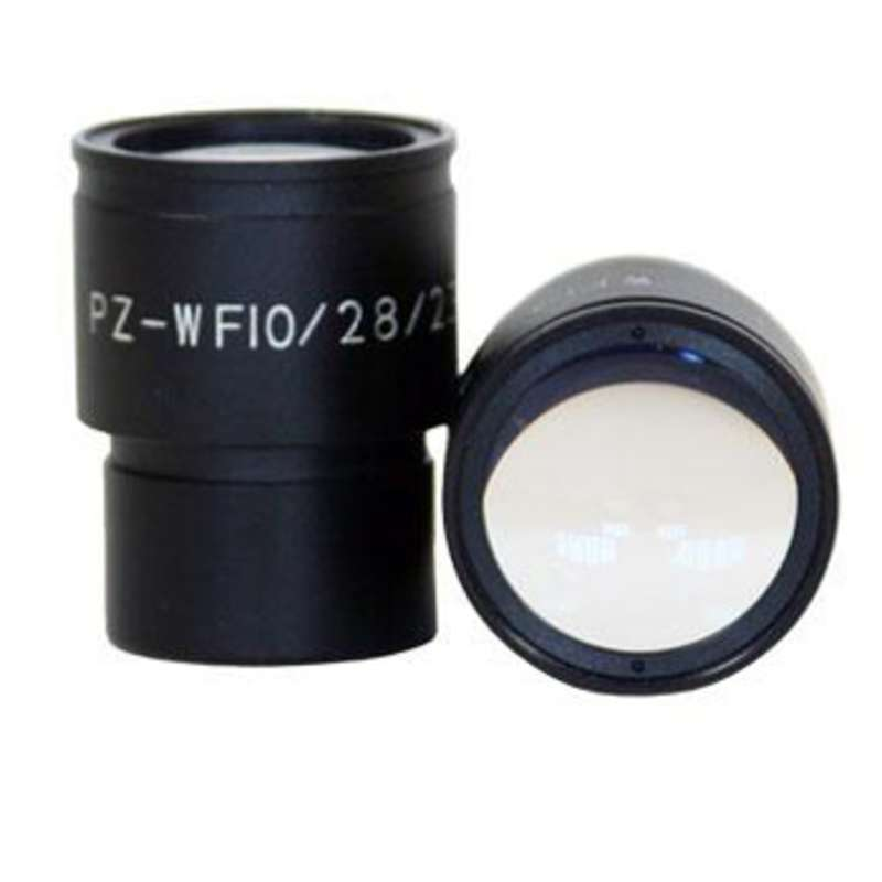 Pro-Zoom 10x Super-Wide Eyepieces, 28mm, for Binocular Microscopes, Pair