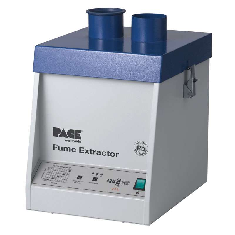 Arm-Evac 250 Fume Extraction Unit with Self Calibrating Filter Monitoring System, 120V
