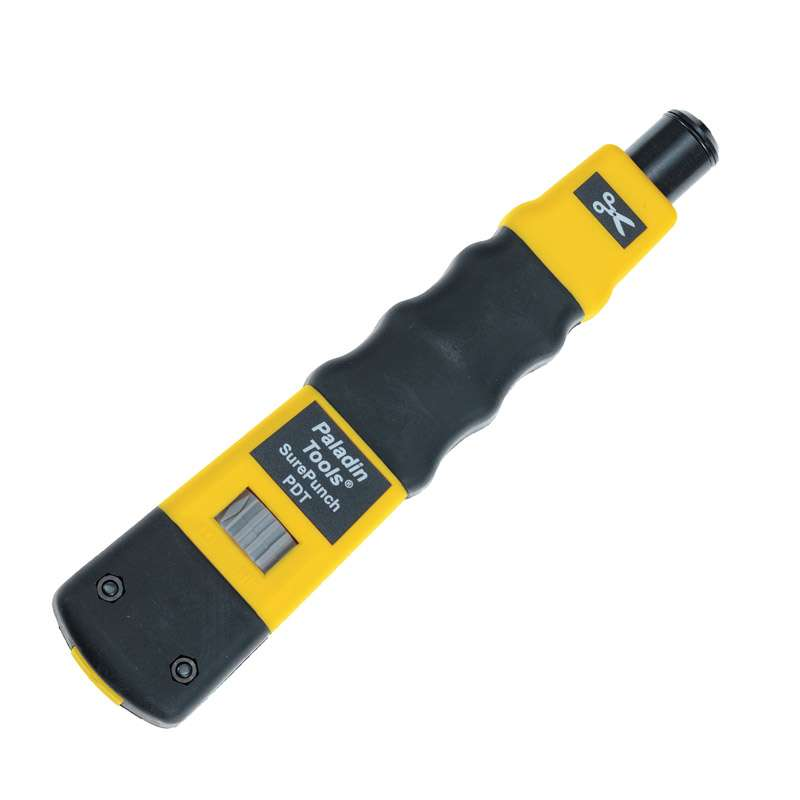 """SurePunch™ Punch Down Tool with Cushioned Grip Handle, 7"""" Long"""