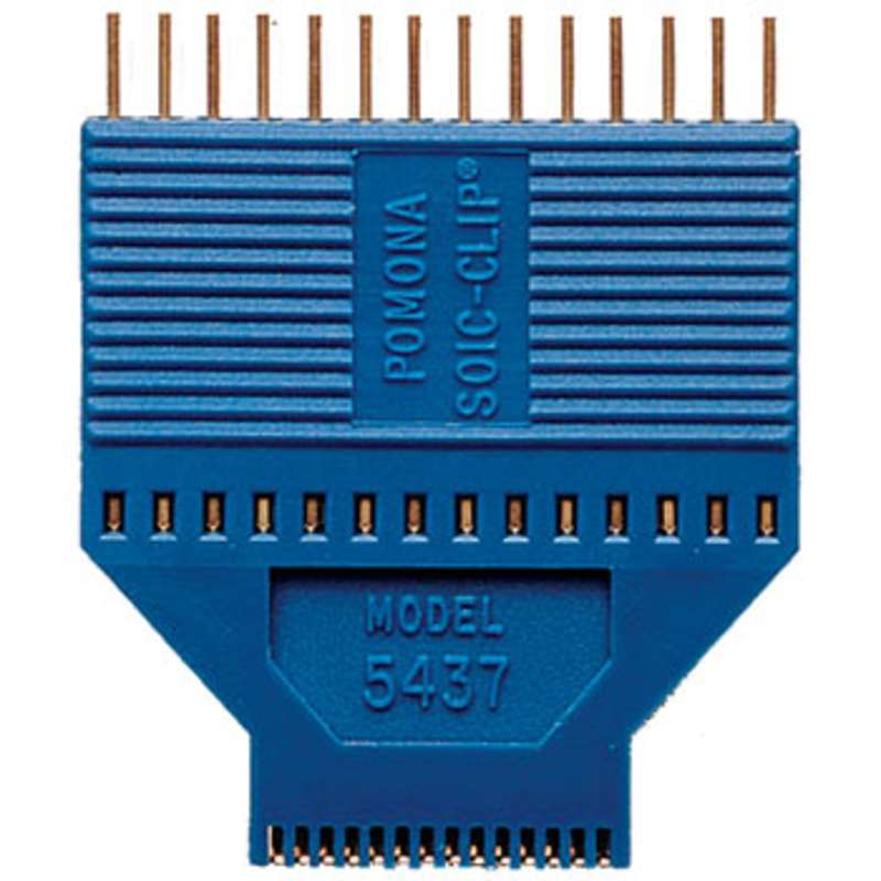 """SOIC/SOJ Test Clip, 28 Pin for Chips with either Gull Wing or """"J"""" Leads"""