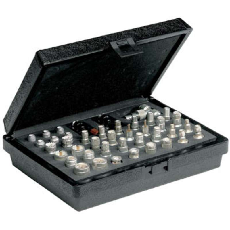 Maxi Universal Coaxial Adapter Kit with 41 Pieces in Hard Case