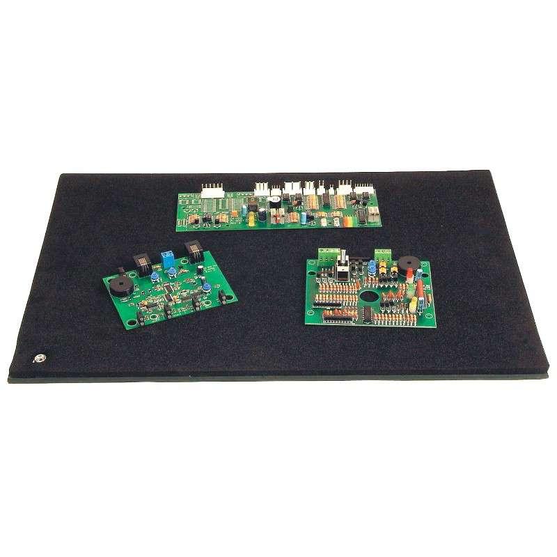 Black ESD-Safe Work Surface Tek-Mate Mat
