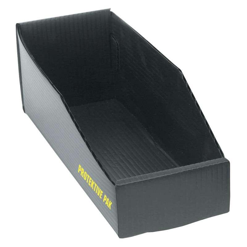 Permanently Conductive Open Top Plastek Bin Box