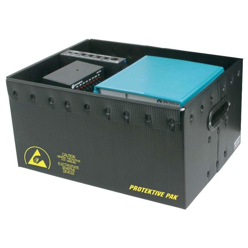 Permanently Conductive Plastek Storage Container
