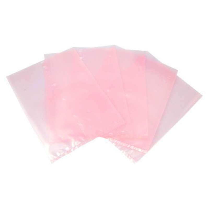 "94 Series Anti-Static 4mil Pink Polyethylene Open Top Bag, 4 x 6"", 1000 per Package"