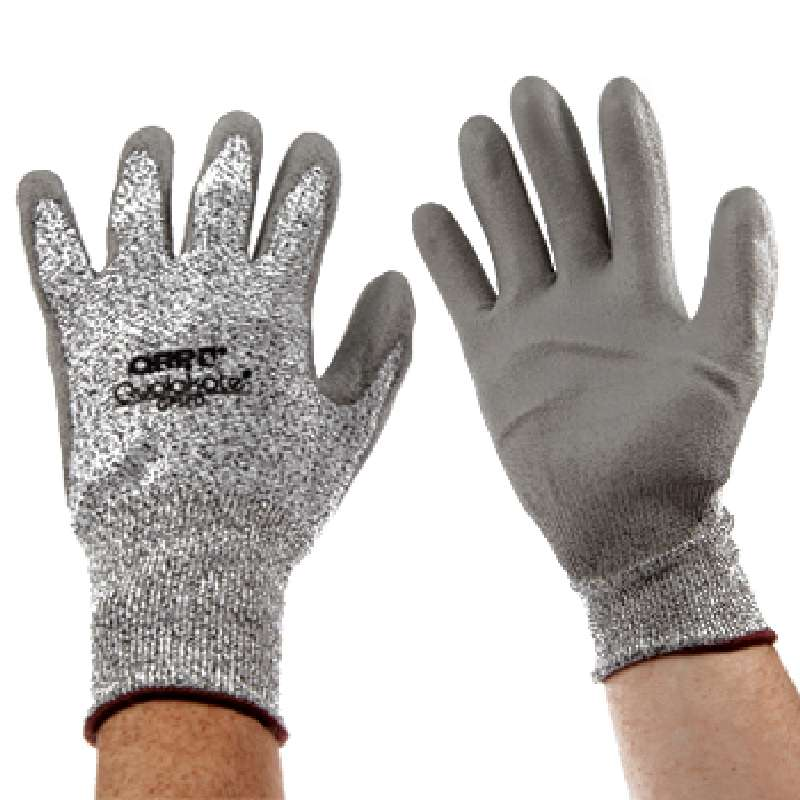 Qualakote® White Dyneema and Black Knit Cut Resistant Gloves, 2X-Large