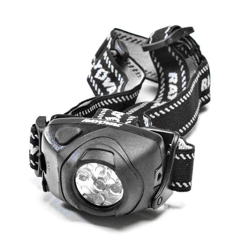 3AAA 50 Lumen Indestructible LED Headlamp with Batteries