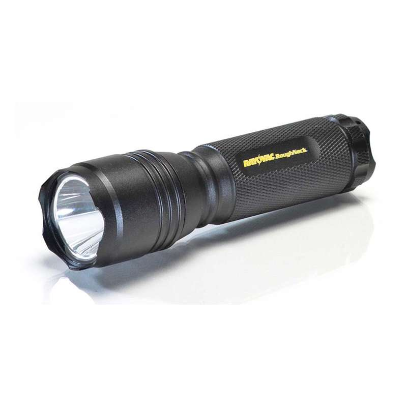 3AAA 220 Lumen Roughneck LED Flashlight with Pouch & Batteries