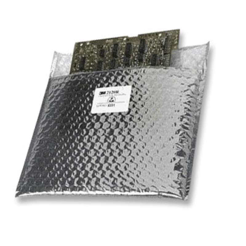 """Open Top Metal-Out Cushioned Static Shielding Bag, 18 x 11"""", 100 per Package"""