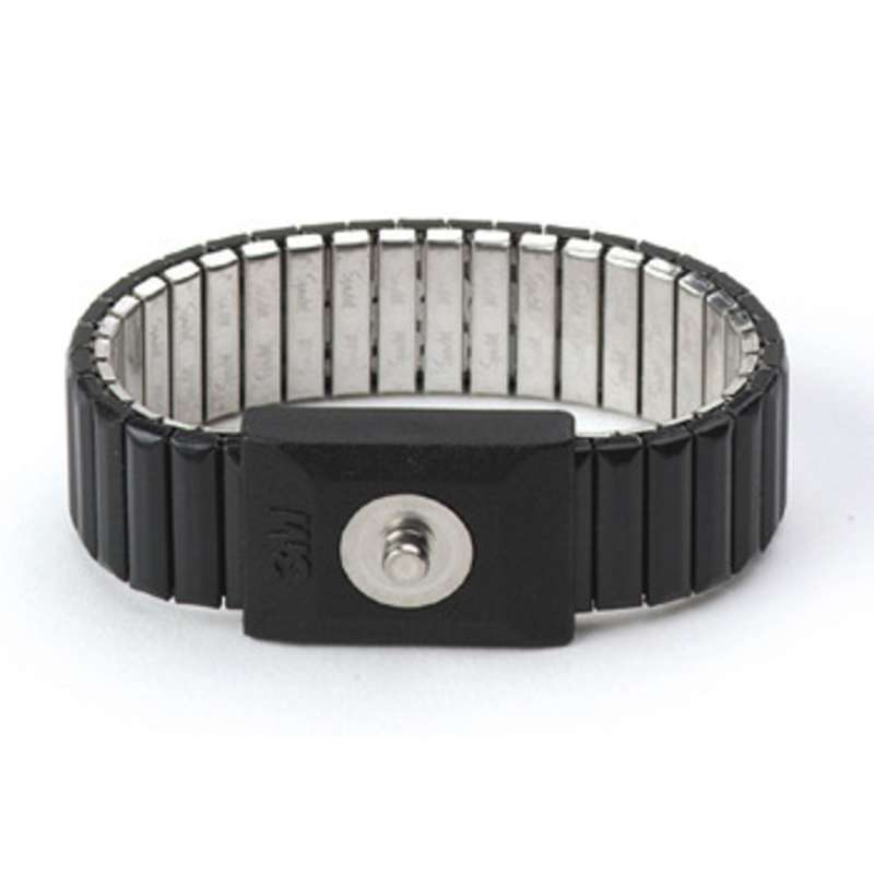 Speidel Expandable Metal Wrist Strap (Band Only) with 4mm Snap, Small