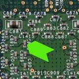 """Fluorescent Green Paper Inspection Arrow, 3/16 x 1/4"""", 1000/Roll"""