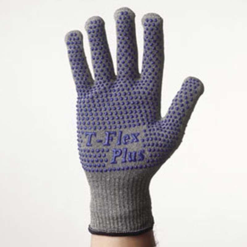 T-Flex® Plus Level 4 Cut Resistant HPPE Knit Glove, 1 Glove, Medium