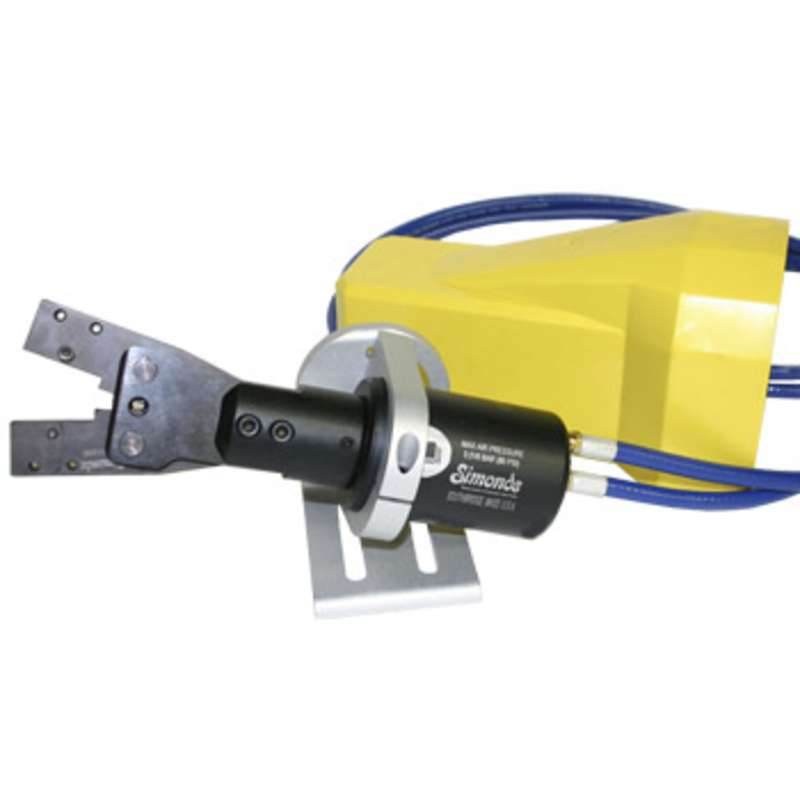 Universal Pneumatic Crimping tool with Power Pack, Bench Stand, and Foot Switch (Die not Included)