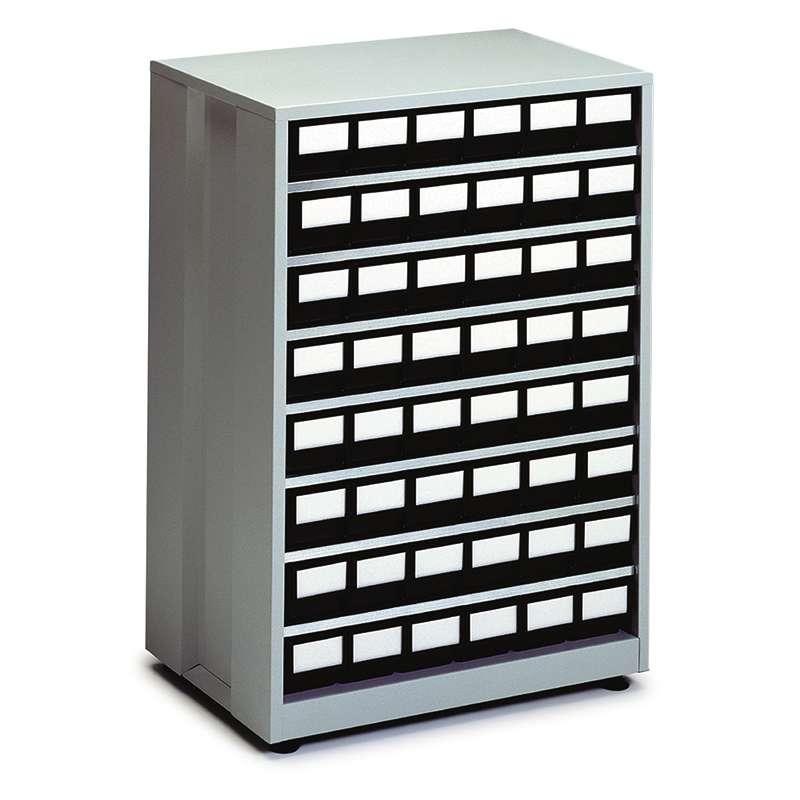 """ESD-Safe Treston® High Density Storage Cabinet, 24 Drawer, 16.14""""D x 23.82""""W x 34.25""""H"""