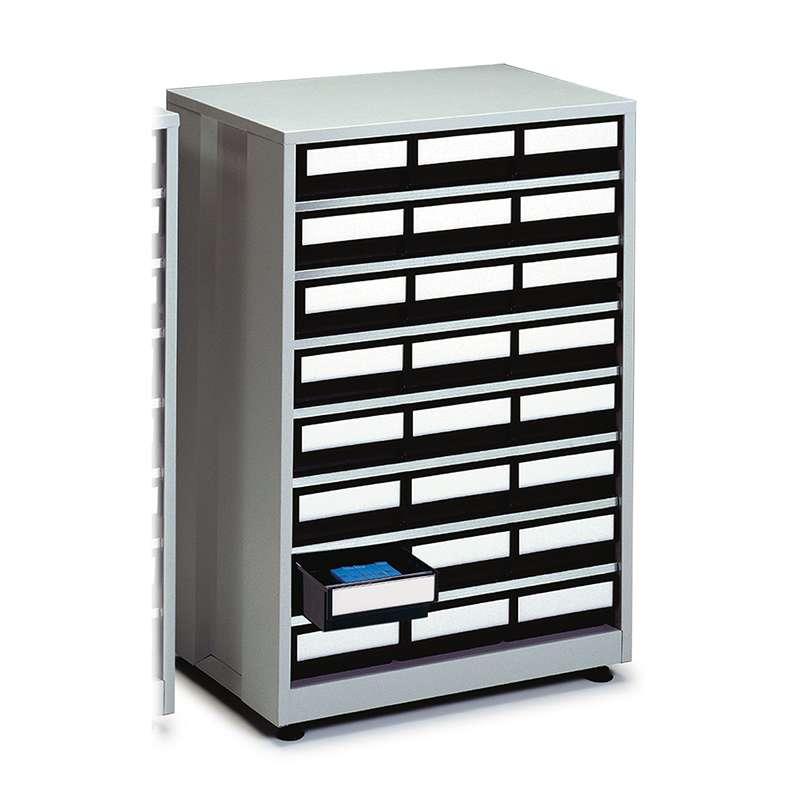 """ESD-Safe Treston® High Density Storage Cabinet, 48 Drawer, 16.14""""D x 23.82""""W x 34.25""""H"""