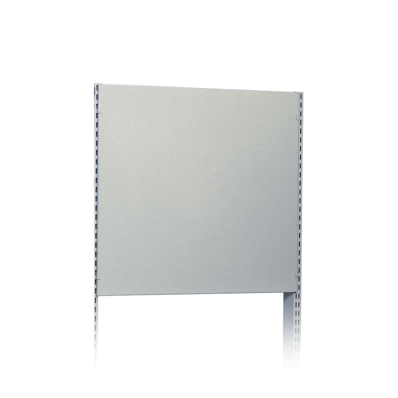 """ESD-Safe Metal Back Panel for the Concept Series Hand Crank Workstation, 19.09""""W x 15.74""""H, Grey"""