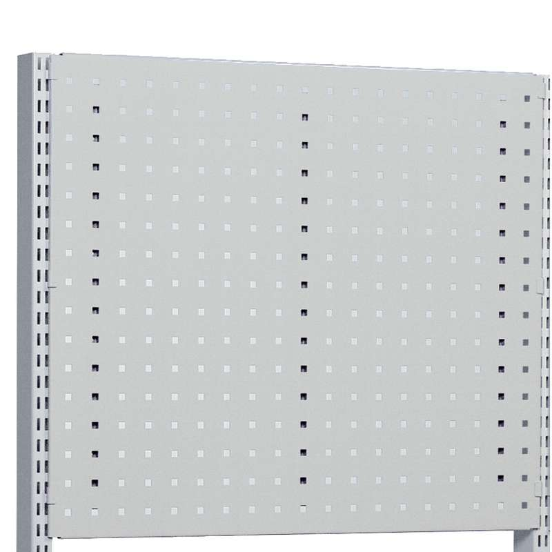 """M60x15.31"""", perforated panel, Grey"""