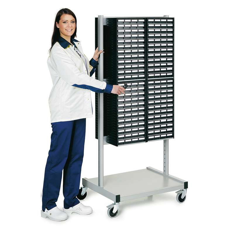 Cabinet Trolley And 4 - 551ESD Cabinets And 4 - 554ESD Cabinets
