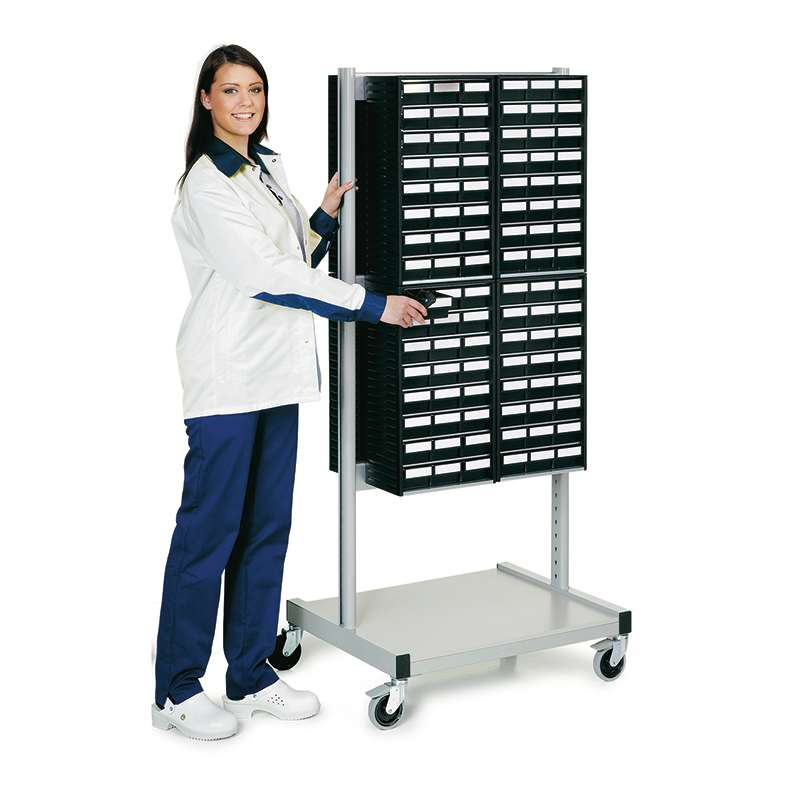 Cabinet Trolley And 8 - 554ESD Cabinets