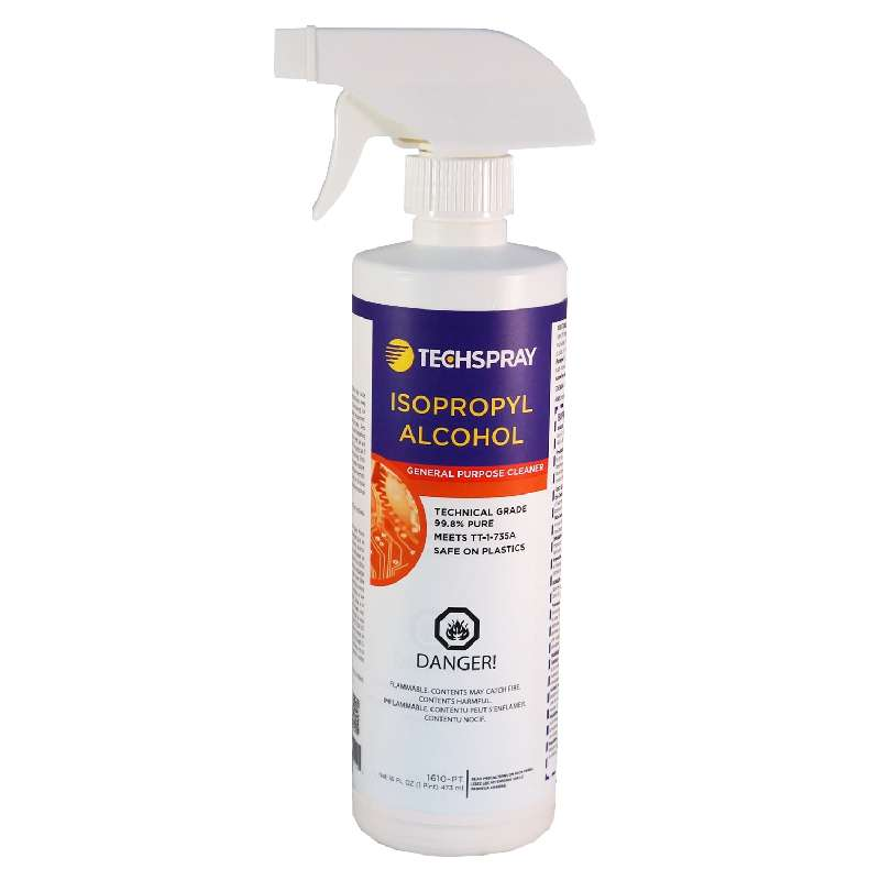 Isopropyl Alcohol, 99.8%, 1 Pint Spray Bottle