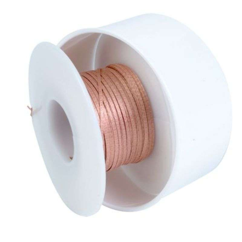 "No-Clean Desoldering Braid, .098"", 100' Blue Standard Spool"