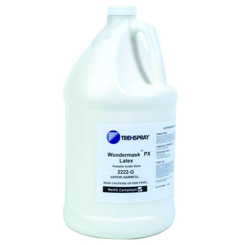 WonderMASK™ PX Fast-Dry Lead-Free Latex Solder Mask, White, 1 Gallon