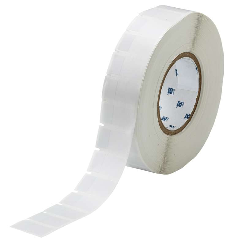 """3"""" Core Series Self-Laminating Thermal Transfer Label, B-427, Clear/White, 1.750 x 0.75 in, 3500 Labels per Roll"""