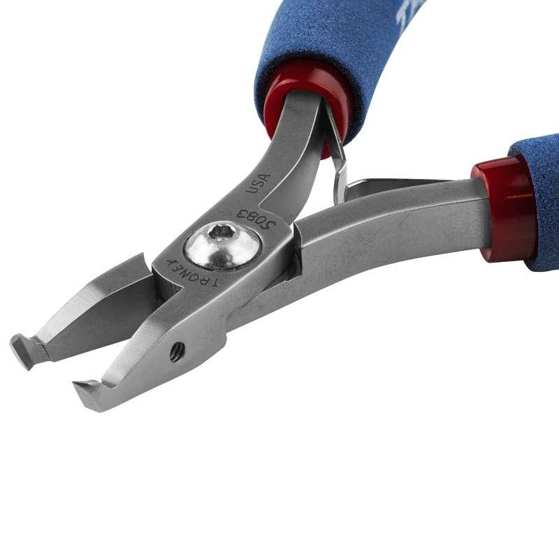 Tronex® 70 degree small oval Flush Cutters, Standard Handles