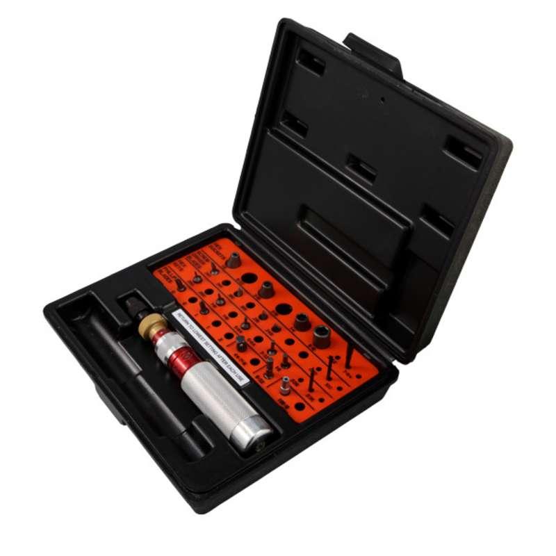 Torque Limiting Screwdriver Kit, 6-30 in/lb Range, 24 Piece