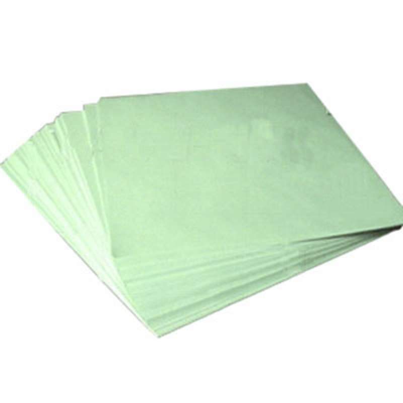 """Cleanroom Paper 8.5x11"""" Green, 2500 sheets/case"""