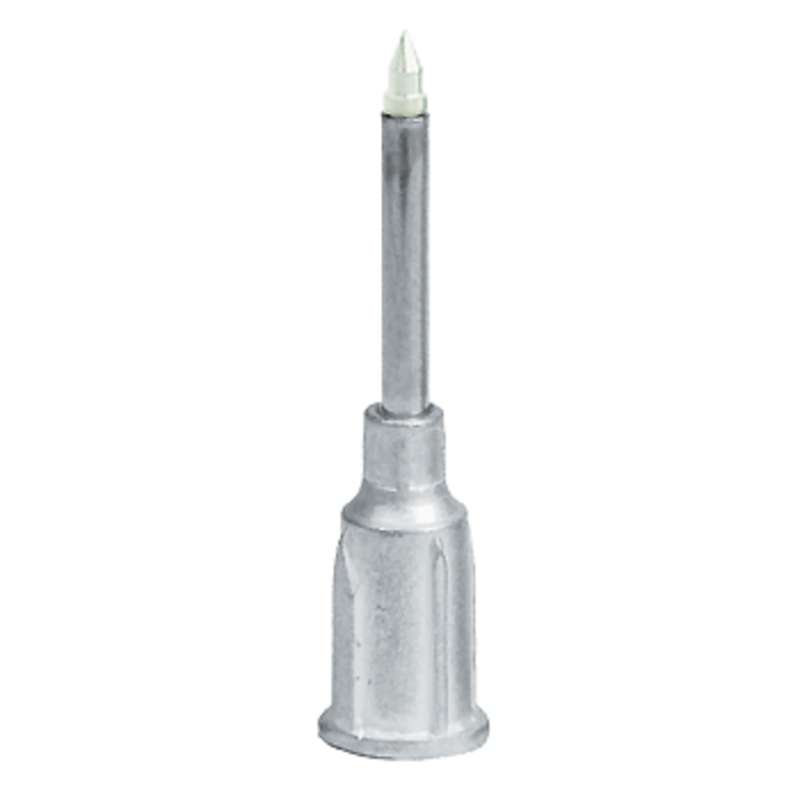 """ESD-Safe Metal Probe with Dissipative Delrin Small Part Vacuum Tip, .005"""" ID (.010"""" OD)"""