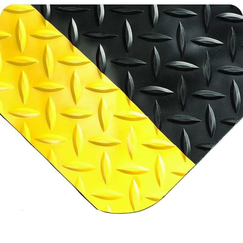 Wearwell Diamond Plate Select 495.1516X3X5BYL