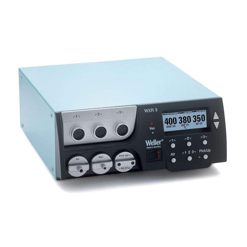 WXR3 Digital Selfcontained All-In-One Rework station, Control Unit Only, 3 Ports (120V)