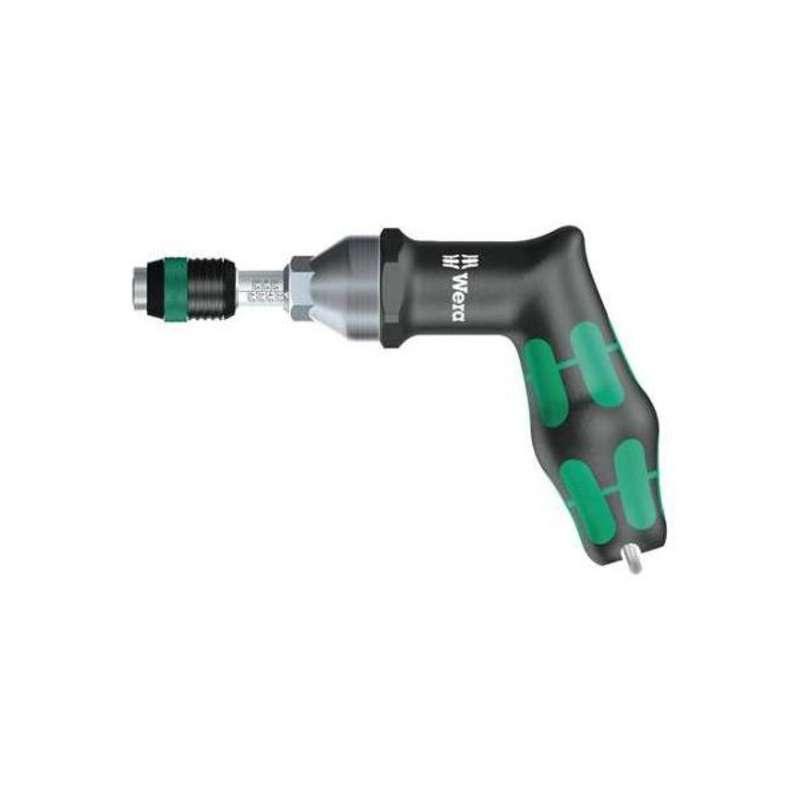 Wera 7442 Pre-Set Adjustable Torque Screwdriver, 1/4 in Hex