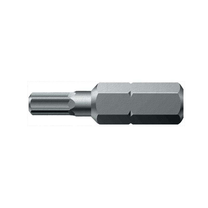 "840/1 Z Series Hex Socket Insert Bit for 1/4"" Hex Drive, 10mm x 1"" Long"