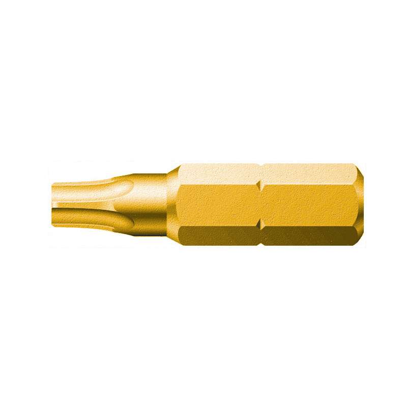 """867/1 Z Series Torx Insert Bit with Holding Function for 1/4"""" Hex Drive, T9 x 1"""" Long"""