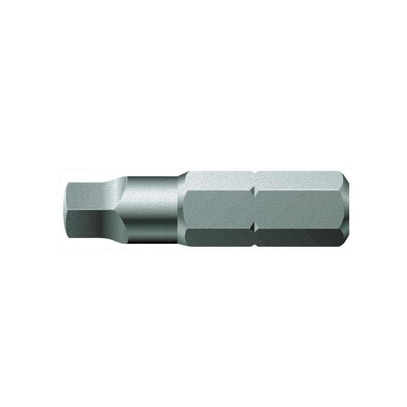 "868/1 Z Series Square-Plus Socket Head Insert Bit for 1/4"" Hex Drive, #4 x 1"" Long"