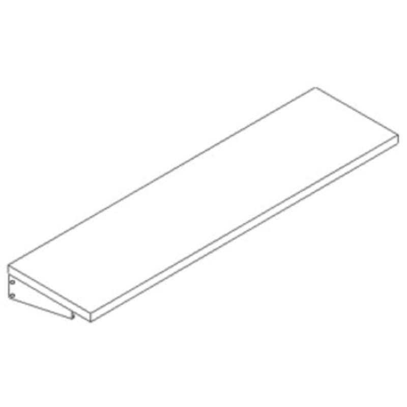 """Quick Ship Standard Shelf Assembly for Concept 2000, 12""""D x 48""""W"""