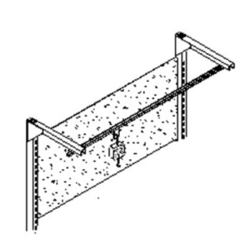 """Quick Ship Work Bench Tool Trolley, 96"""", without Brackets"""