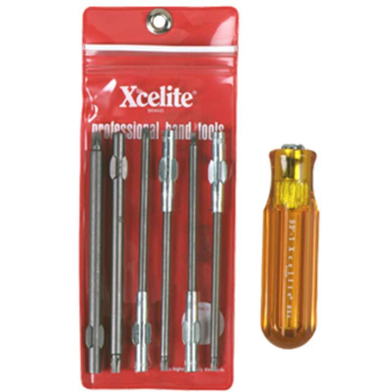 Series 99® Torx Screwdriver Blade Kit with Carrying Pouch, 7 Piece